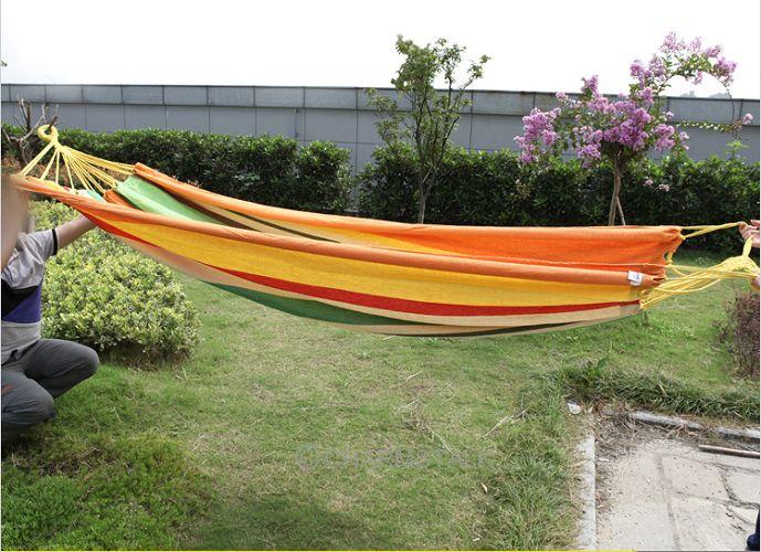 single person swing hammock garden swing bed adult swing rest chair ...
