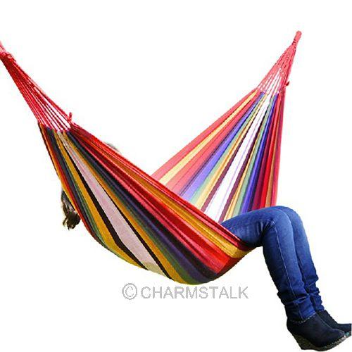 Single-Person Hammock Chair/Swing - Orange