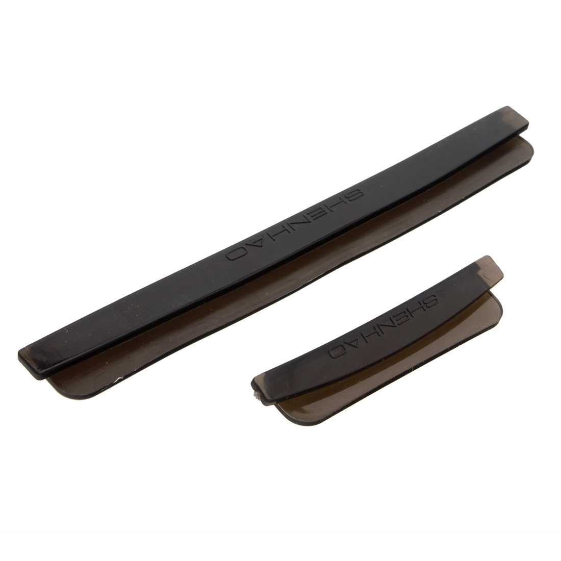 Black molding edge guard trim all cars clear handle door for Door edge trim