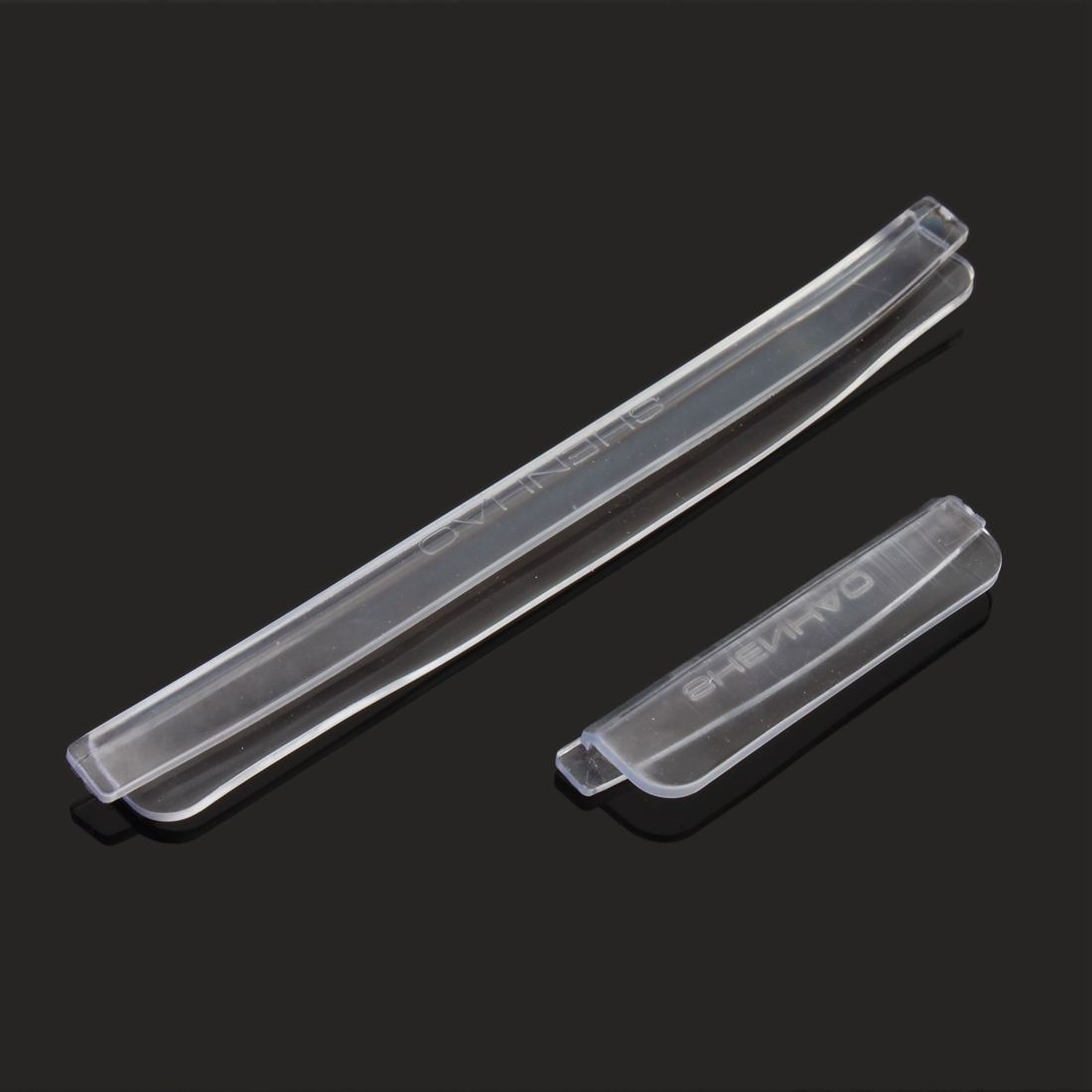 Clear trim edge guard door strip all cars molding vehicle for Door edge trim