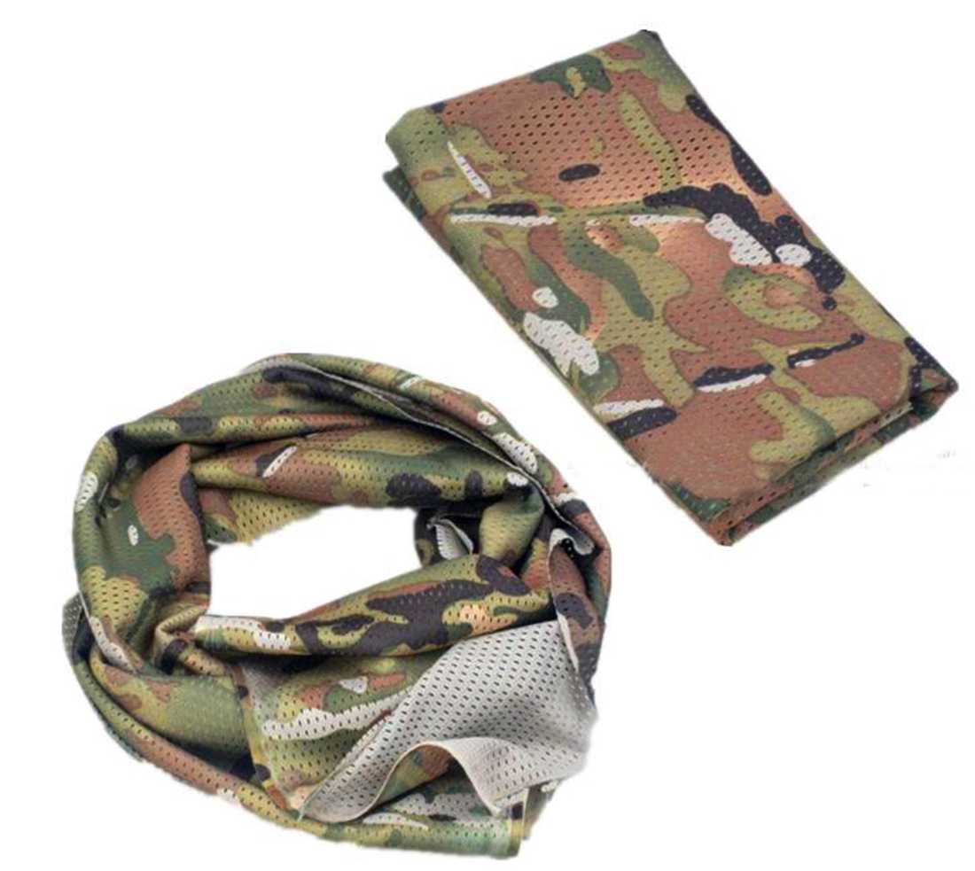 how to put on a shemagh tactical scarf
