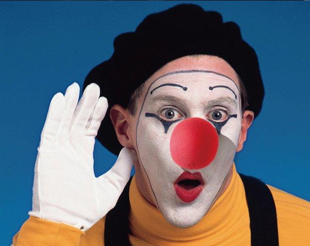 red nose lustiger clown spassvogel rote nase halloween zirkus kost m ebay. Black Bedroom Furniture Sets. Home Design Ideas