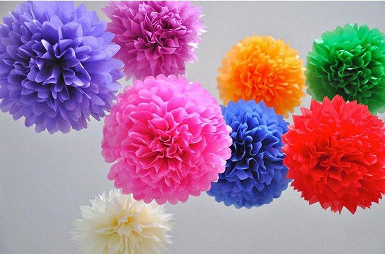 最全的立体纸花球的折法图解,包含玫瑰花球等一系列花球折法